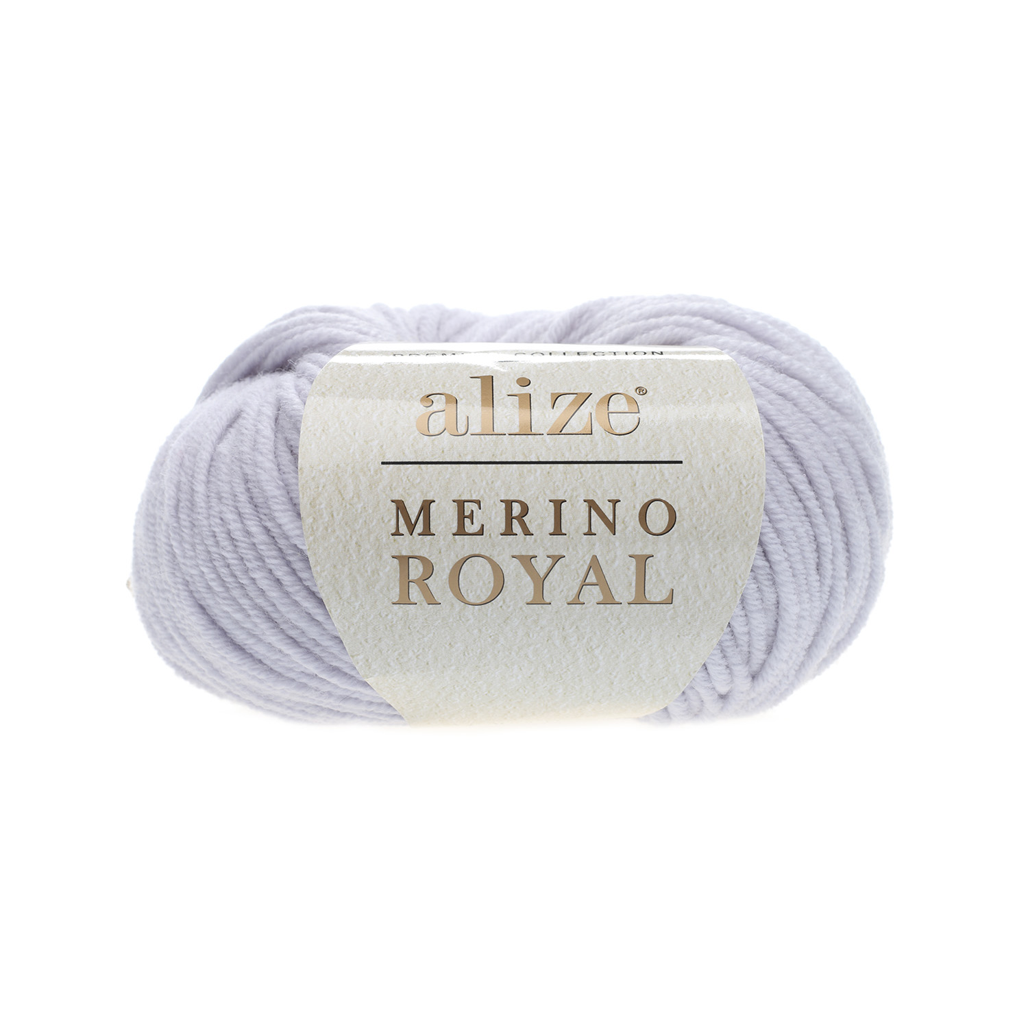 Svetlo sivá 100% merino vlna Merino Royal 362 (Superwash)