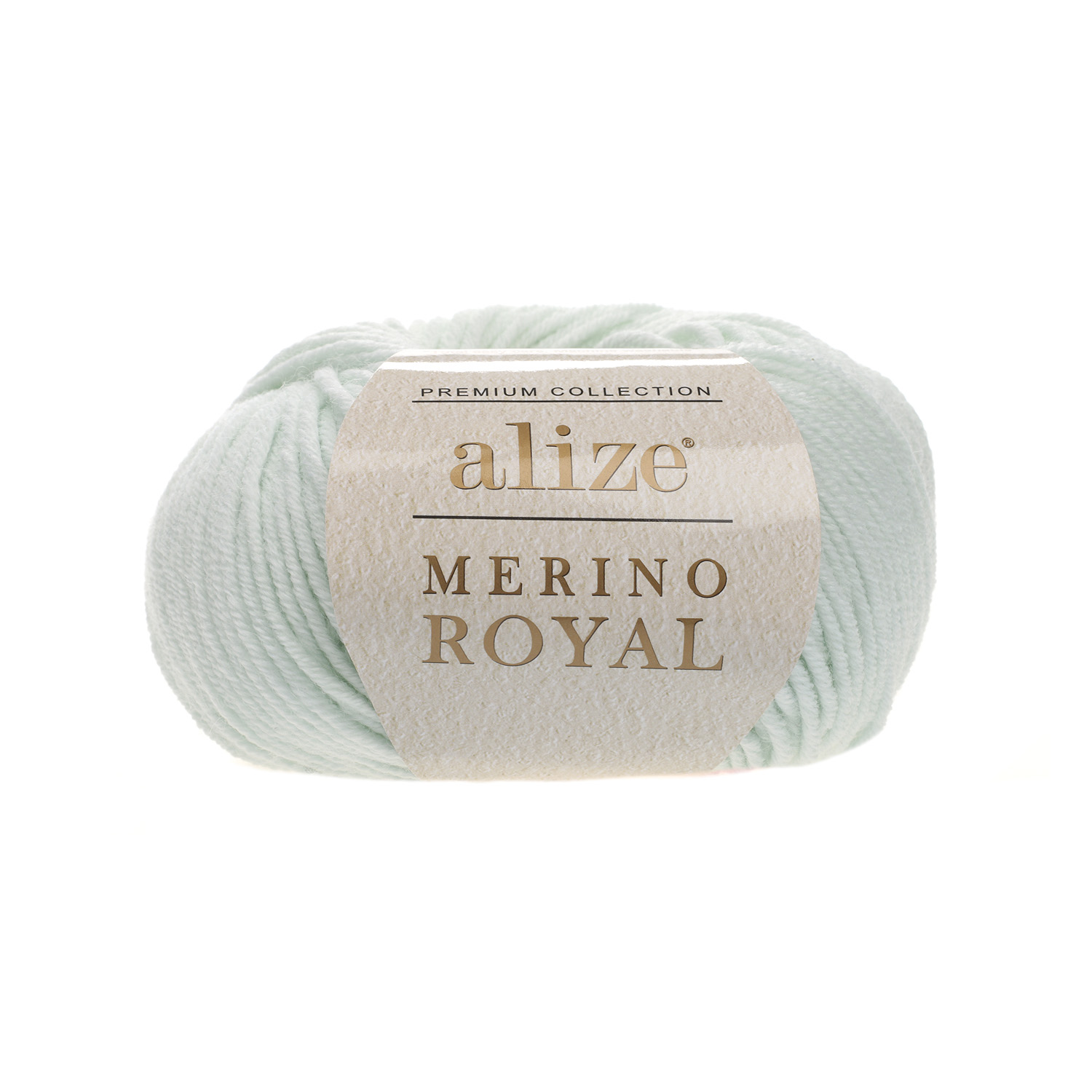 Mentolovo zelená 100% merino vlna Merino Royal 522 (Superwash)